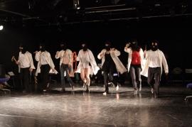Studententheater der Universität Kassel (STUK) Angriffe auf Anne von Martin Crimp Aufführung am 26.06.2015